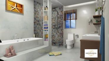 baño masia 1
